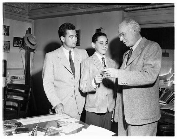 Carrier bond story, 1951
