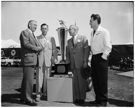 Mercury sweepstakes trophy, 1952