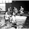 Swimming cops, 1958