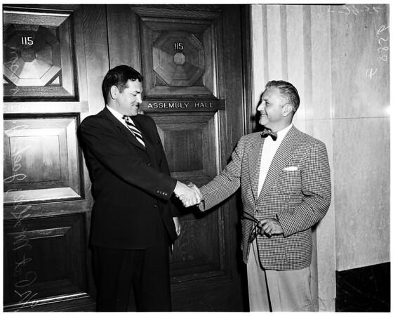 Pat McGee (Assemblyman), 1952