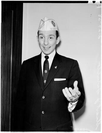 American Veterans, 1958.