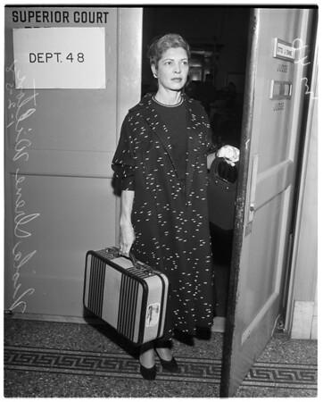 1st divorce of 1958, 1958