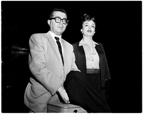 Liz Renay at International Airport, 1958