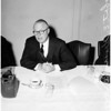 Savings Bonds press conference, 1958