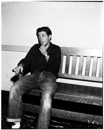 Pasadena City College fight victim, 1952
