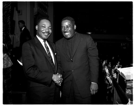 Reverend Martin Luther King Junior, 1958