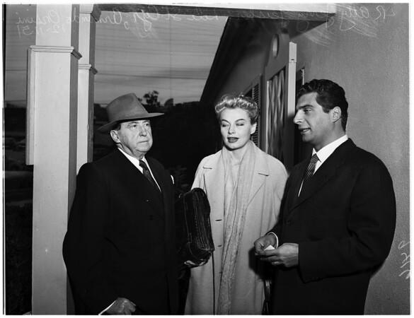 Saint Cyr Trial, 1951