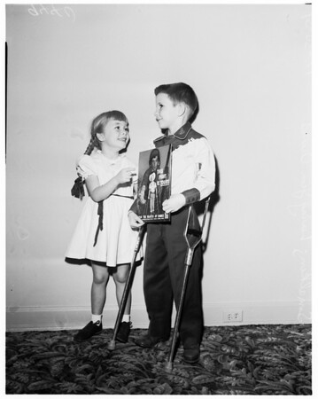 March of Dimes kids, 1951