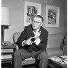 Interview at Statler, 1958.