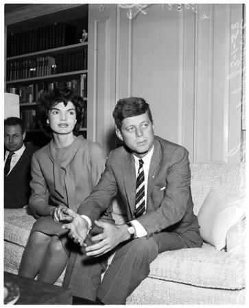 Senator Kennedy interview, 1958
