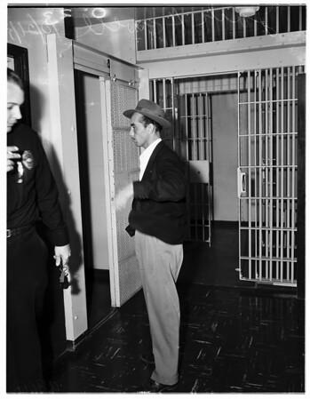 Arrest of telephone sex pervert, 1951