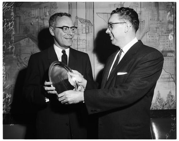Carter Award, 1958.
