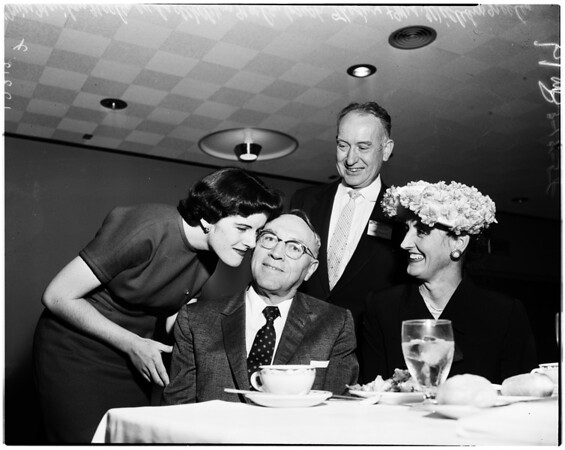 Luncheon for Judge Neeley, 1958