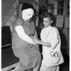 Explosion burns...hospital, 1951