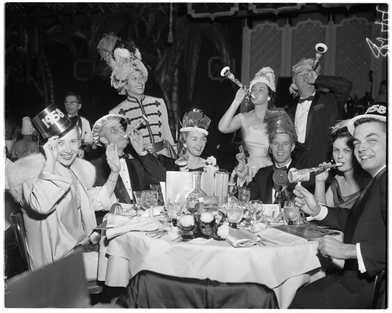 New Year's at Cocoanut Grove, 1957