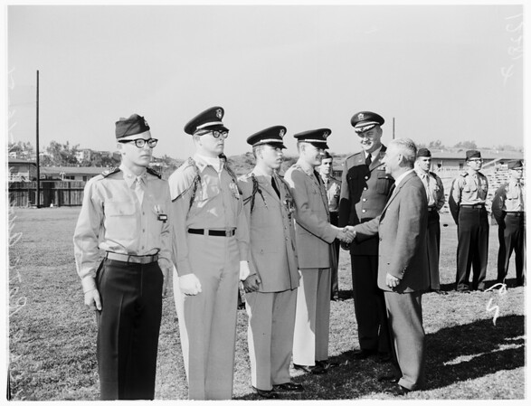 University of California, Los Angeles ROTC awards, 1958