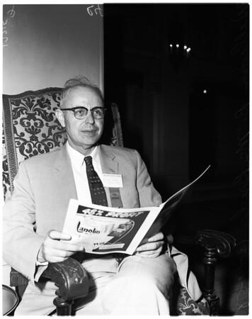 Music educators convention, 1958.