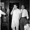 Burglary suspect and possible Hipperson murderer, 1958