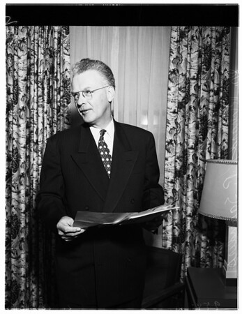 Doctor Richard P. Saunders (International President), 1952