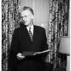 Doctor Richard P. Saunders (International President), 1952