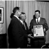 Sroll presentation by Board of Supervisors, 1958.