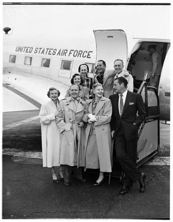 Entertainers to Korea, 1951