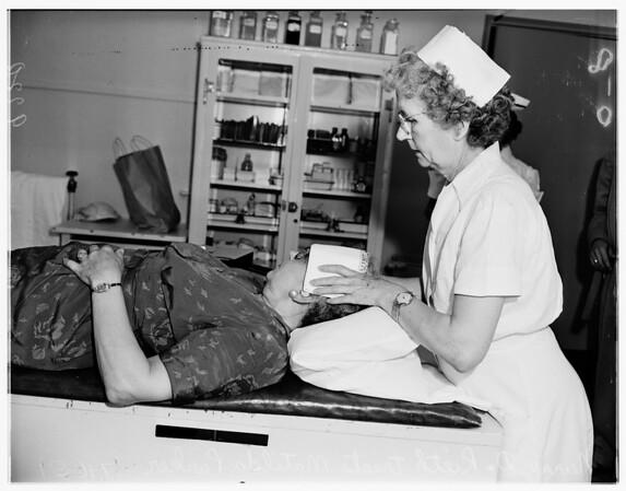 Heat prostration, 1951