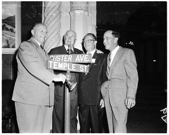 Temple Street Alumnae, 1957