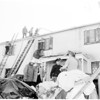 Apartment house fire, 1955