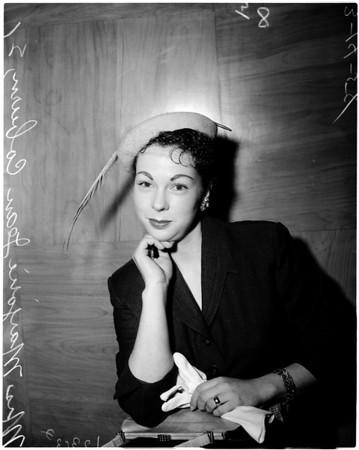 Marjorie Coburn divorce, 1958