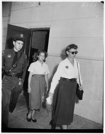 Joann Tobin, 1951