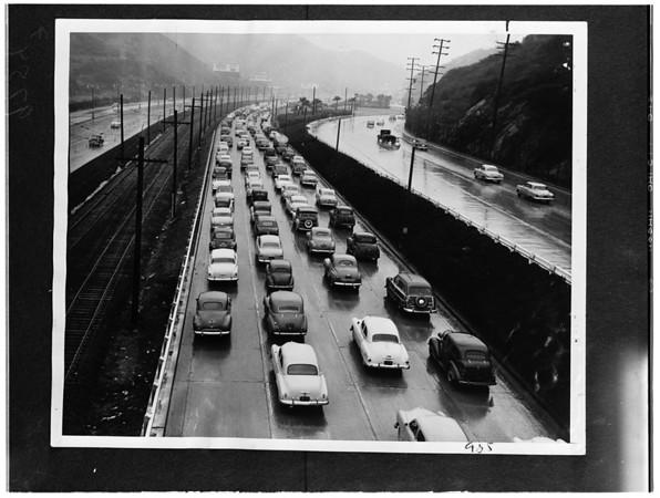 Traffic (Gus Newman series) Copy negative, 1952