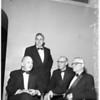 Lincoln Club annual dinner at California Club, 1958