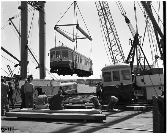 Streetcars to Korea, 1956