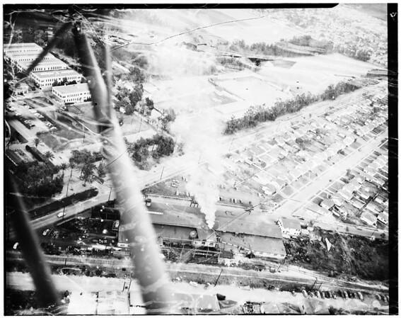 Smog at Dayton Foundry, 1950