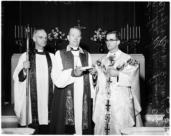 Episcopal ordination, 1958