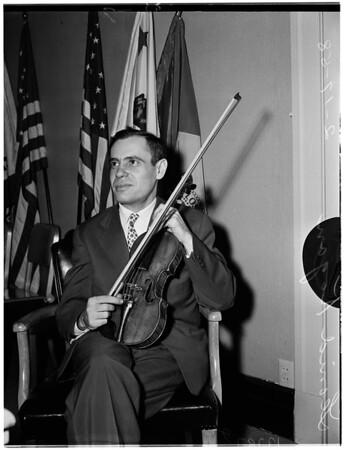 Russian violinist, 1958