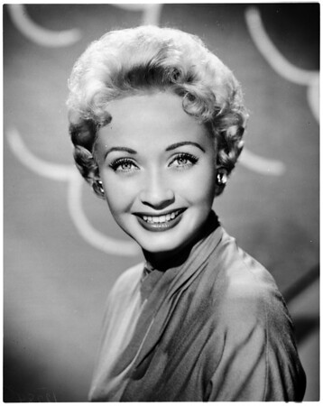 "Jane Powell (NBC TV ""Turn of Fate""), 1958"