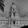 Facade of the Pasadena City Hall, ca. 1930