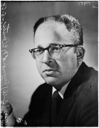 Missing man, 1958.