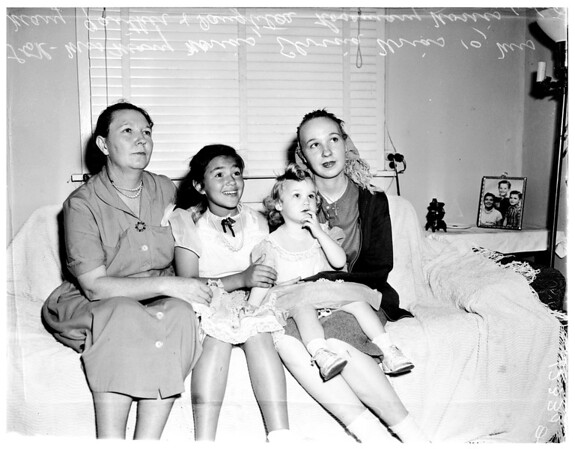 Poisoned family (with candy), 1958