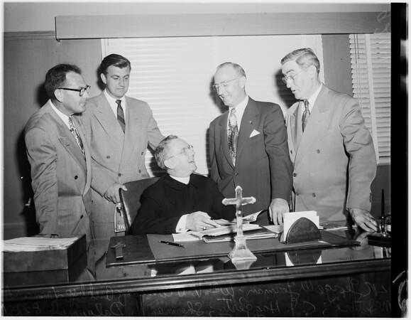 Labor Day mass planning, 1951