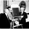 Water award (plaque presentation), 1958
