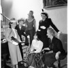 Young Republican Women meeting. Society, 1951