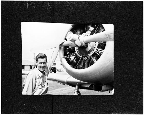 Copy -- First Lieutenant Atrhur B. Bordley, 1952