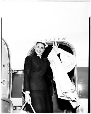 "Former ""Miss America"", 1952"