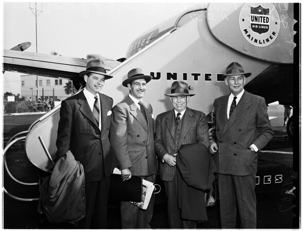 To Attend the Thirty-First Annual American Petroleum Institute Convention in Chicago, 1951