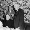 Testimonial dinner, 1958.