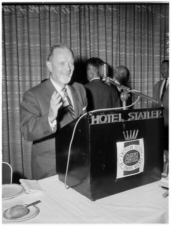 Travel agents, 1958