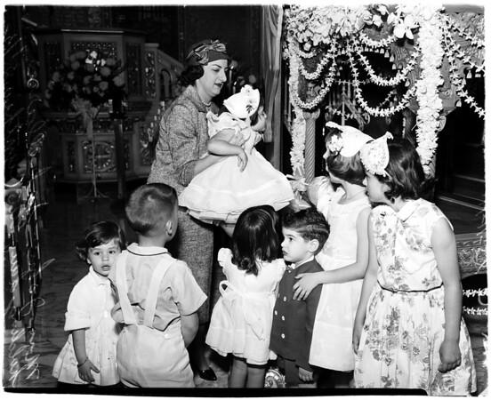 Greek Easter, 1958